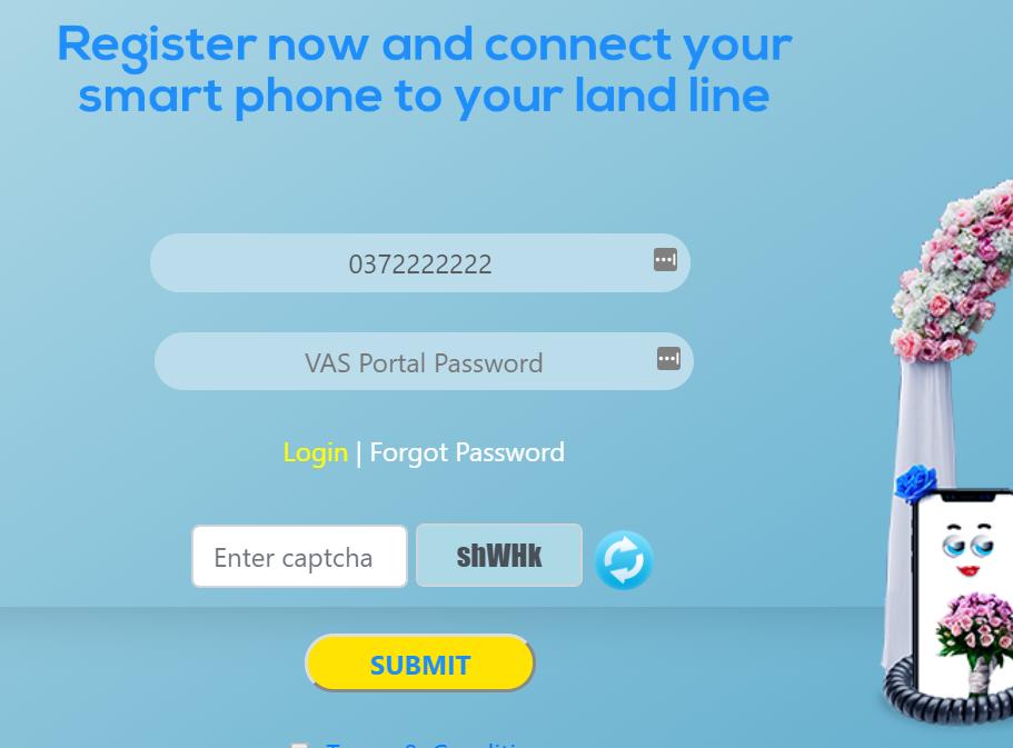 SLT Voice portal