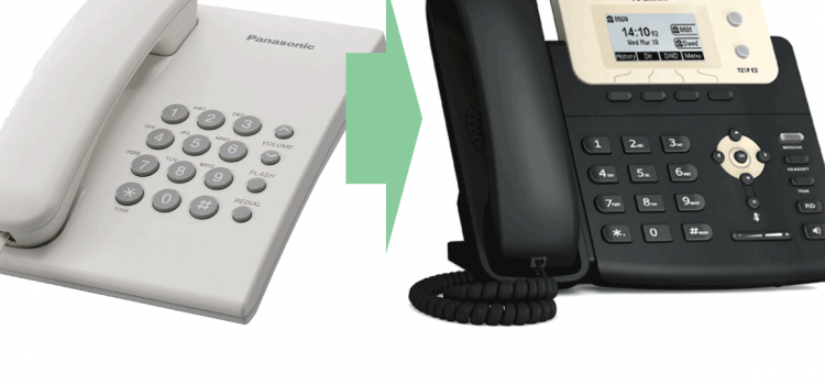 Replace traditional Land Phone and Use VOIP SIP phone as SLT phone
